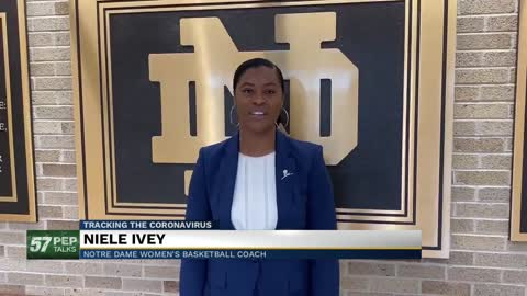 57 Pep Talks: Notre Dame women's basketball Coach Niele Ivey