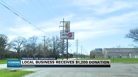 Anonymous person donates stimulus money to Mishawaka businesses