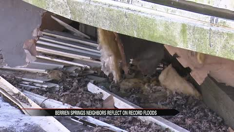 Berrien Springs neighbors reflect on record flooding 1 year later