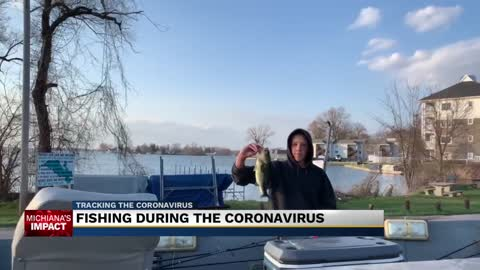 Fishing during the coronavirus