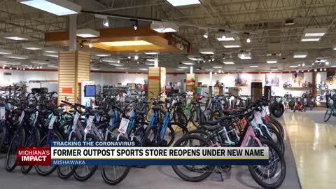 Former Outpost Sports in Mishawaka reopens as Outpost Bikes