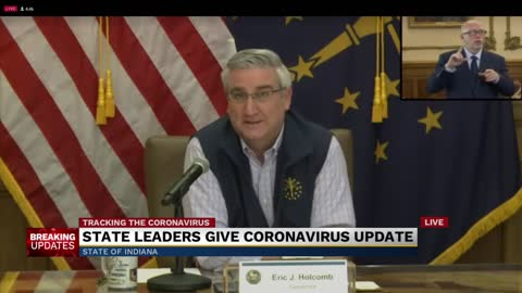 Governor Holcomb issues guidelines for religious services during pandemic
