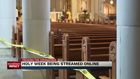 Catholic Churches moving services online for Easter Sunday