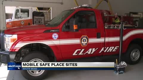 Mobile Safe Places now include fire department vehicles