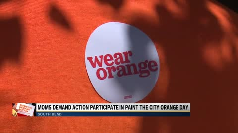 Paint The City Orange raises awareness for those lost due to...