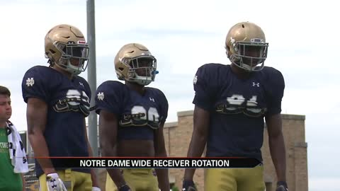 Receivers Boykin and Claypool set high expectations for Irish offense