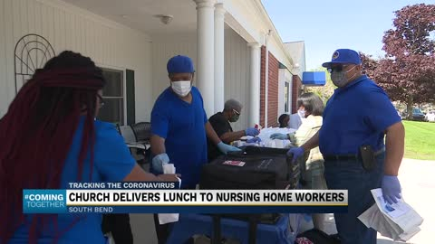 South Bend church delivers lunch to healthcare workers