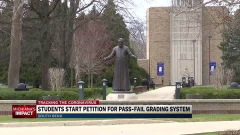 Holy Cross College students petition for pass/fail grading system