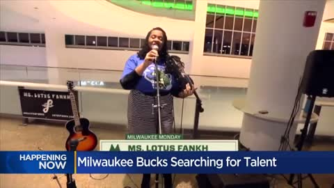 Could be you! Bucks, Fiserv Forum in search of raw talent to entertain...