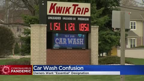 Wisconsin car washes allowed to reopen Friday under stay at home order extension