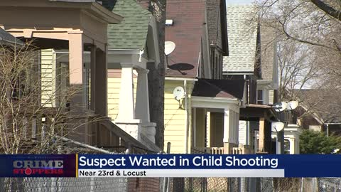 Crime Stoppers Crime of the Week: Man shoots 7-year-old near 23rd and Locust, FBI offers $5K reward for information