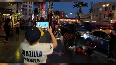 10-year-old boy giving the Brewers Godzilla powers heads to LA for the game