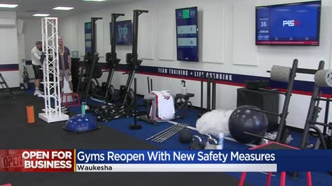 Waukesha County YMCAs open up, other gyms in Milwaukee County still waiting