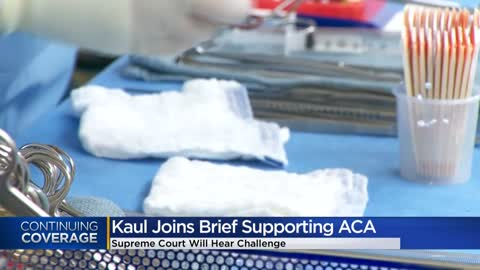 Kaul joins brief supporting Affordable Care Act