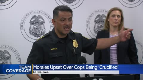 ' Chief Morales upset with reaction toward officers, department