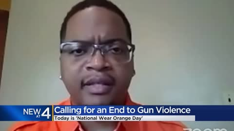 Leaders call for end to gun violence on National Wear Orange...