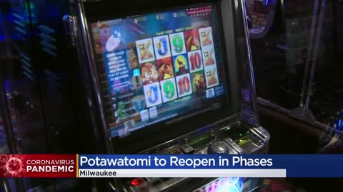 Potawatomi Hotel & Casino announces phased reopening plan