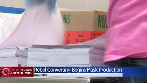 Saukville company Rebel Converting donating kits to help make millions of masks