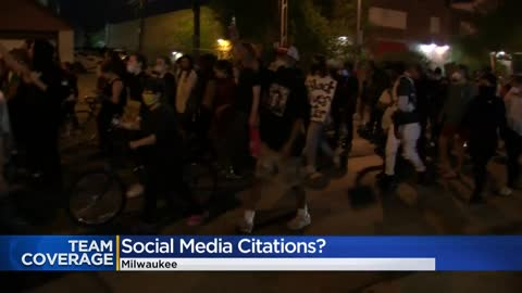 Milwaukee protester says curfew citation was mailed to him after...