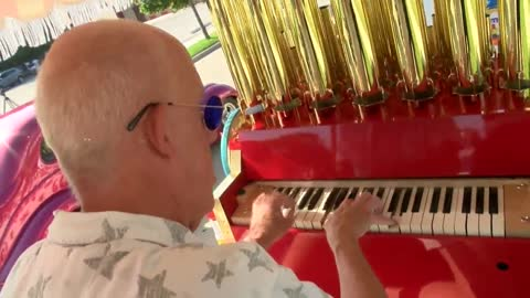 Traditional Calliope instrument returns to action in Racine