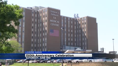 The Milwaukee VA is celebrating 150 years with free doughnuts and salutes